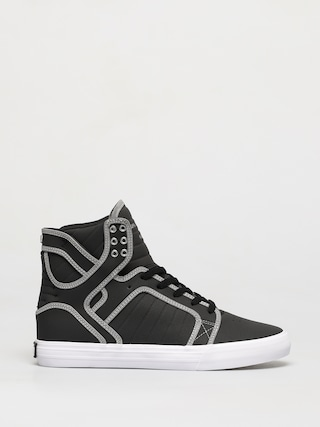 Supra Skytop Shoes (black/reflect white)