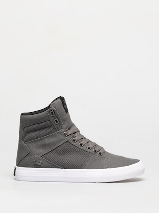 Supra Aluminum Shoes (grey/black white)