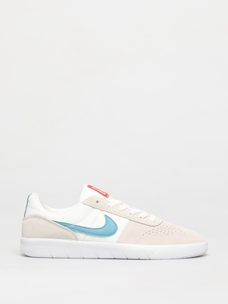 Nike SB Team Classic Shoes (summit white/cerulean white)