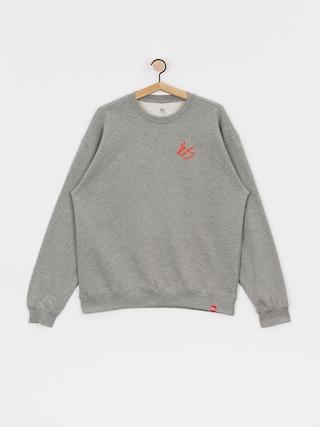 eS Script Crew Sweatshirt (grey/heather)