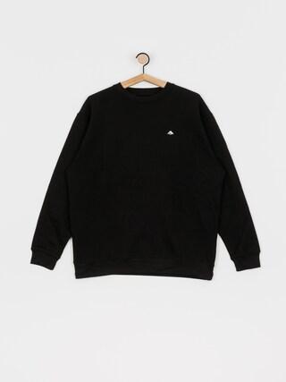 Emerica Triangle Staple Crew Neck Sweatshirt (black)