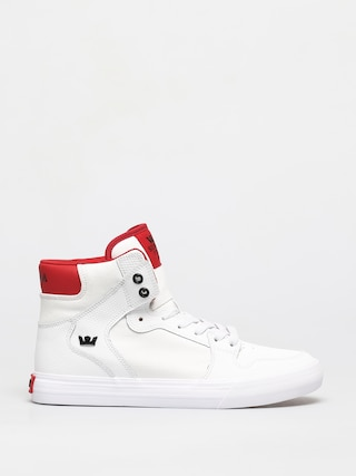 Supra Vaider Shoes (white/red white)