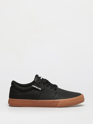 Supra Stacks Vulc II Shoes (black tuf lt gum)