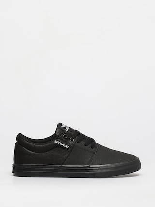 Supra Stacks Vulc II Shoes (black tuf black)