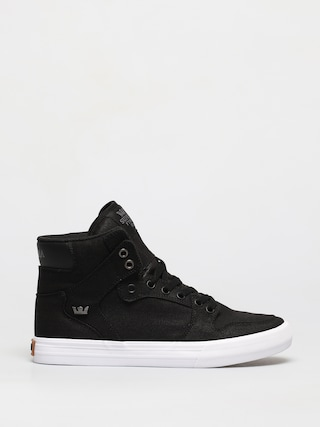 Supra Vaider Shoes (black white/gum)