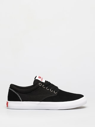 Supra Chino Shoes (black/red white)