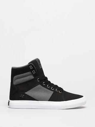 Supra Aluminum Shoes (black/dk grey white)