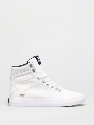 Supra Aluminum Shoes (white white)