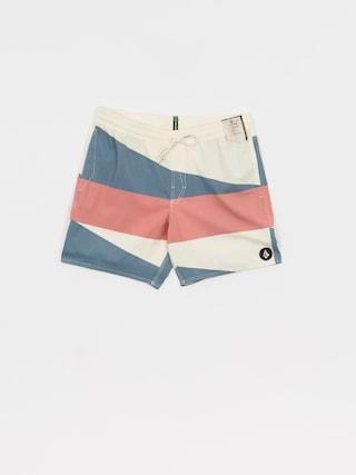 Volcom Boardshorty Knotical Trunk Shorts (white flash)