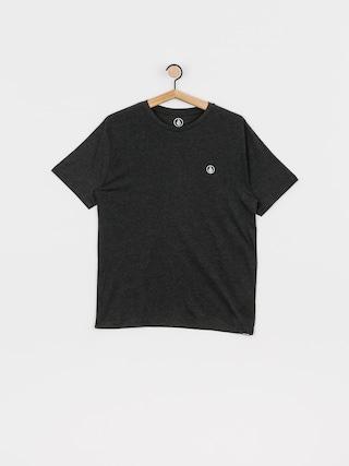 Volcom Circle Blanks Hth T-shirt (heather black)