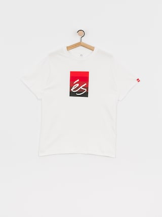 eS Block Gradient T-shirt (white)