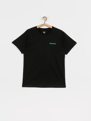 Emerica Pure Triangle T-shirt (black/green)