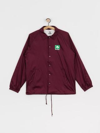 Emerica Classic Combo Coaches Jacket (burgundy)