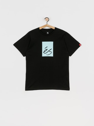 eS Main Block T-shirt (black/blue)