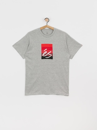 eS Block Gradient T-shirt (grey/heather)