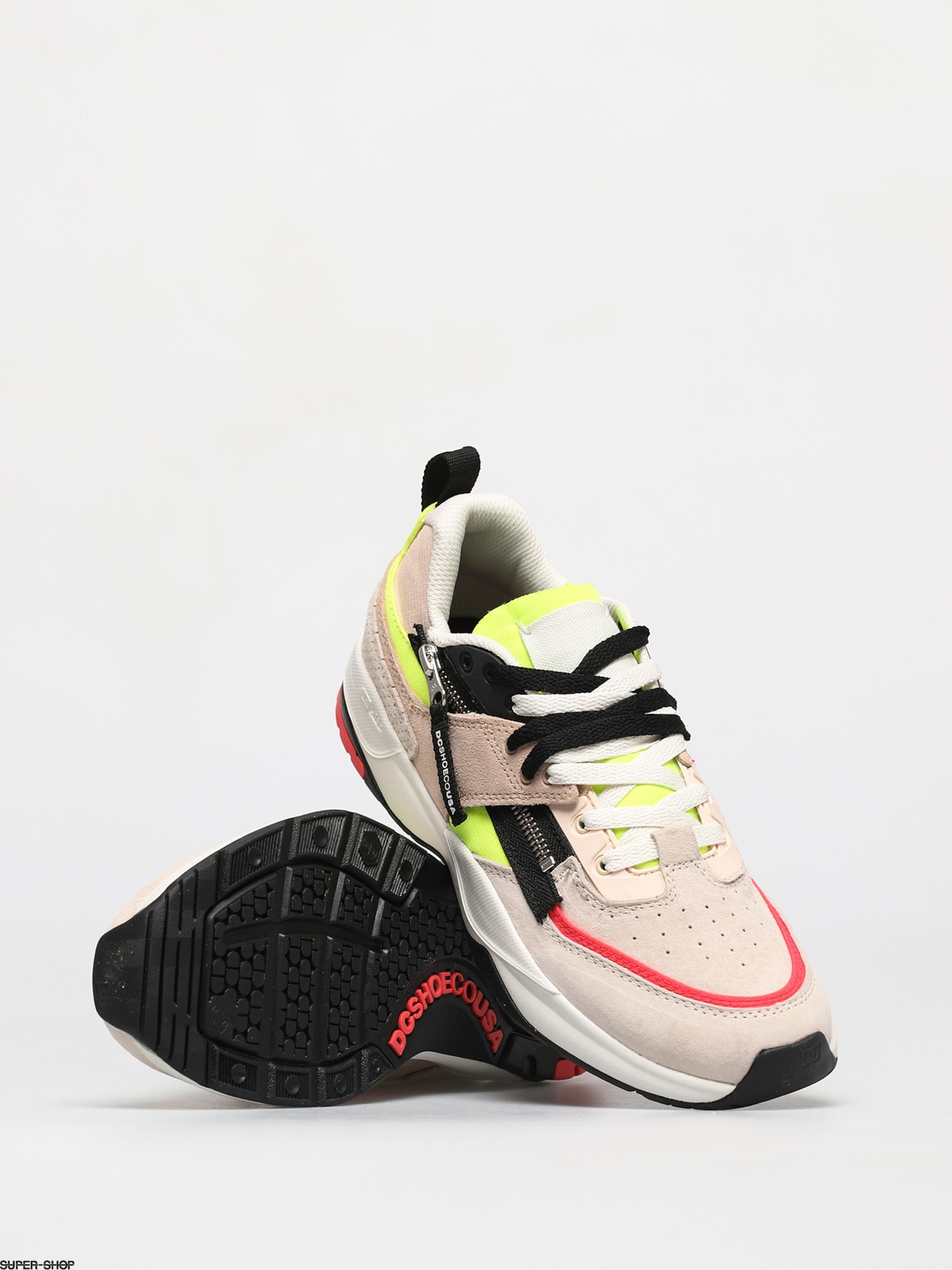 DC E Tribeka ZIP Shoes (neon lights)