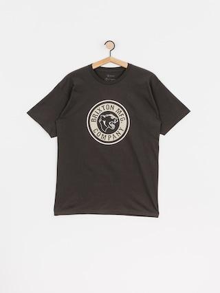 Brixton Forte Stt T-shirt (washed black/vanilla)