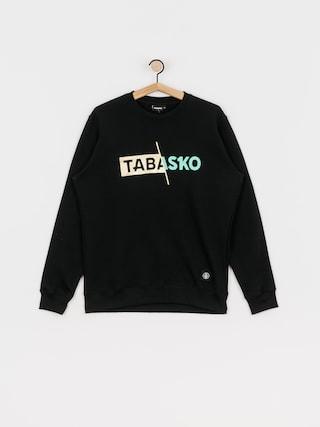 Tabasko Slash Crew Sweatshirt (black)