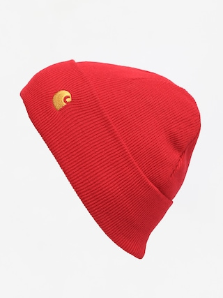 Carhartt WIP Chase Beanie (etna red/gold)