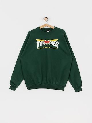 Thrasher Venture Collab Sweatshirt (green)