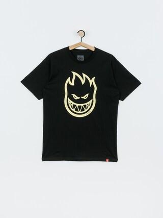 Spitfire Bighead T-shirt (black/dschrg)