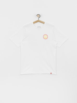 Spitfire Clsc Swrl T-shirt (white/red/yellow)