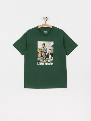 DGK Runnin Numbers T-shirt (forest)