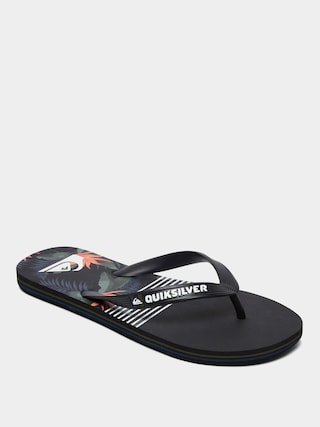 Quiksilver Molokai Jungle Swell Flip-flops (black/grey/black)
