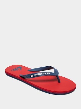 Quiksilver Molokai Flip-flops (red/blue/red)