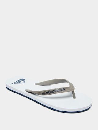 Quiksilver Molokai Flip-flops (grey/grey/white)