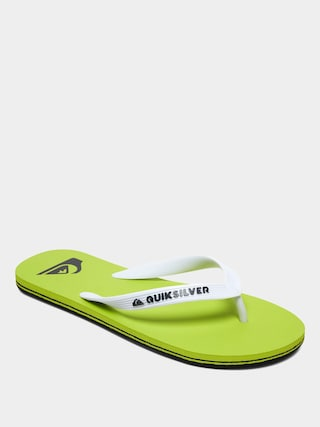 Quiksilver Molokai Flip-flops (black/green/green)