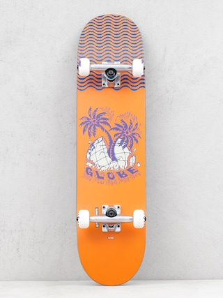 Globe G1 Overgrown Skateboard (orange)