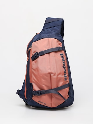 Patagonia Atom Sling 8L Backpack (classic navy w/mellow melon)