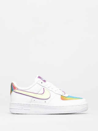 Nike Air Force 1 Easter Shoes Wmn (white/barely volt hyper blue)