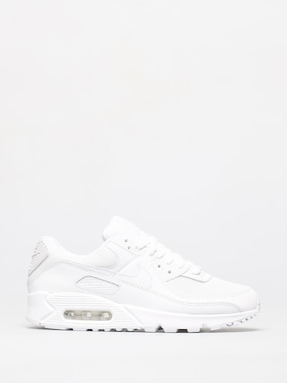 Nike Air Max 90 Shoes (white/white white wolf grey)