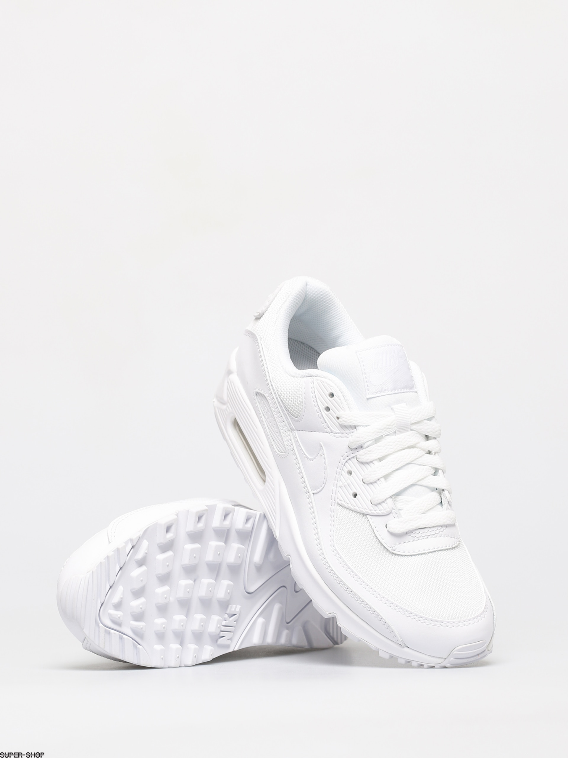 Nike Air Max 90 Shoes (whitewhite white wolf grey)