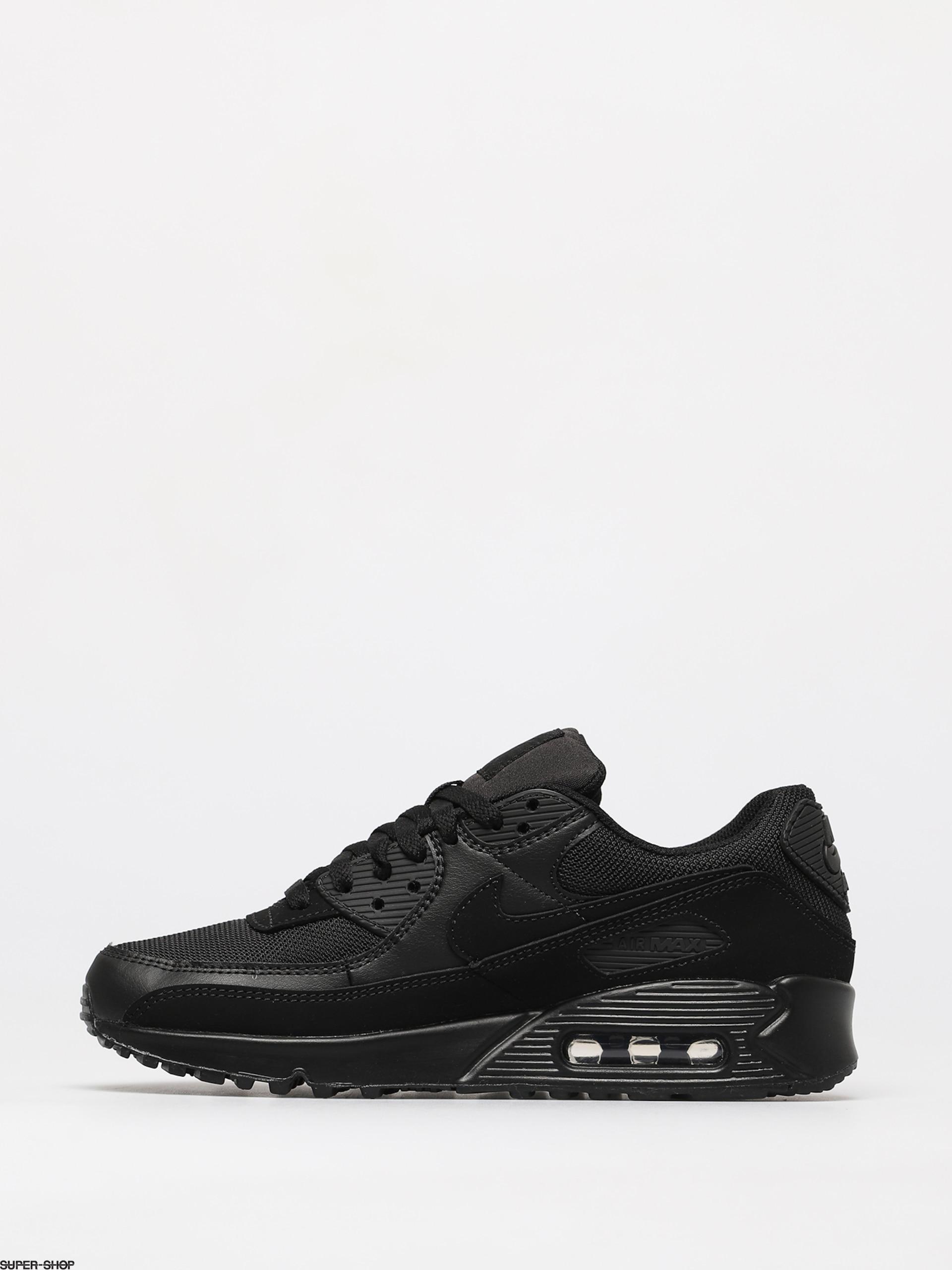 Nike Air Max 90 Sneakers in All Black