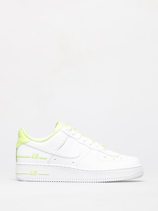 Nike Air Force 1 07 Shoes (white/white barely volt)