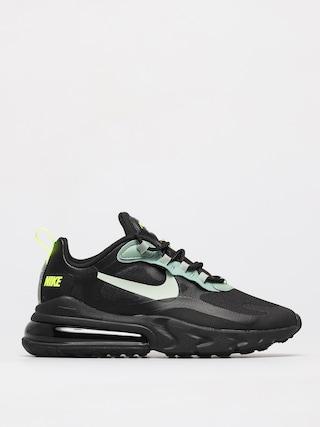 Nike Air Max 270 React Shoes (black/pistachio frost silver pine volt)