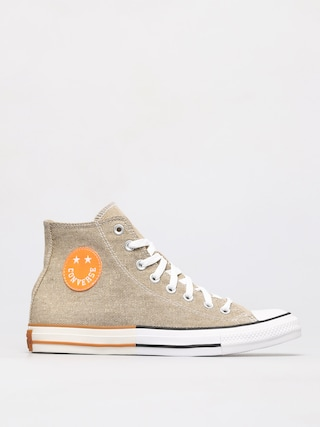 Converse Chuck Taylor All Star Hi Chucks (khaki/total orange/white)
