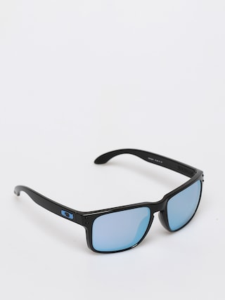 Oakley Holbrook Sunglasses (polished black/prizm deep h2o polarized)