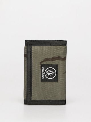 Volcom Box Stone Wallet (army green combo)