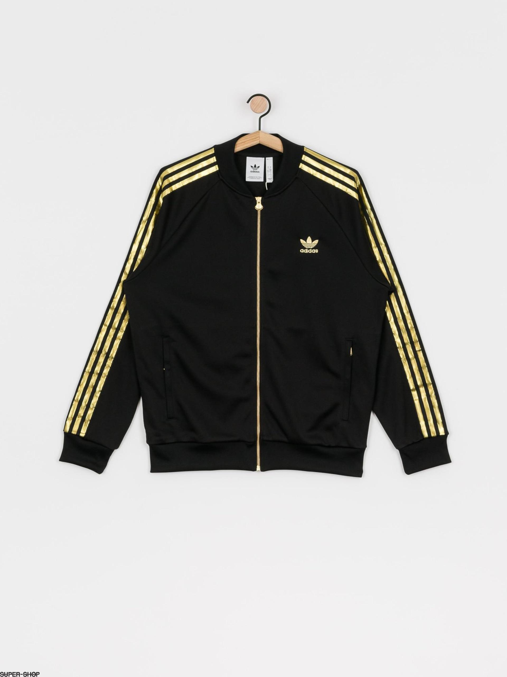 Generosidad Profecía Pato  adidas Originals Sst 24 Tt Sweatshirt (black/goldmt)