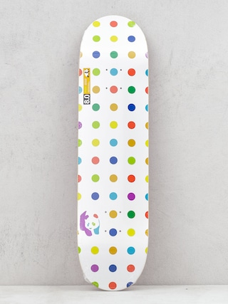 Enjoi Dots Hybrid Deck (white)