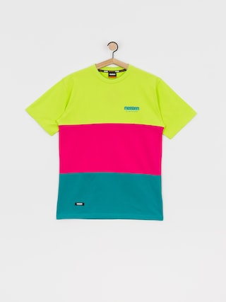 MassDnm Zone T-shirt (mint/magenta/yellow)