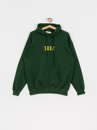 Sour Solution Sour Army Hoodie (bottle green)