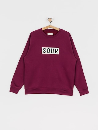 Sour Solution Sour Patch Crew Sweatshirt (burgundy)