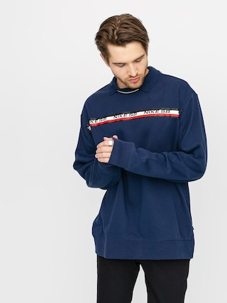 Nike SB Stripe Sweatshirt (midnight navy)