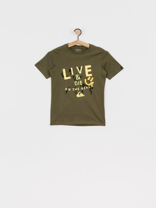 Quiksilver Illusions Of Order T-shirt (kalamata)