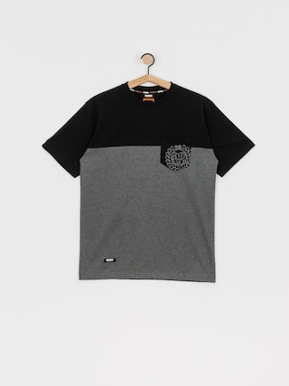 MassDnm Pocket Base T-shirt (dk heather grey)